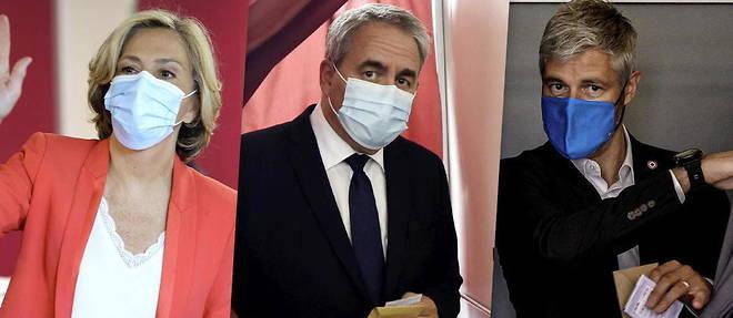 Valerie Pecresse, Xavier Bertrand et Laurent Wauquiez