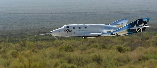 Le milliardaire Richard Branson a accompli son reve d'espace