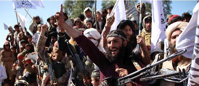 Des combattants talibans afghans en 2020 dans la province de Laghman.