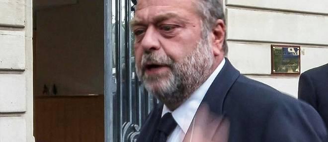 Eric Dupond-Moretti mis en examen, une premiere pour un ministre de la Justice en exercice
