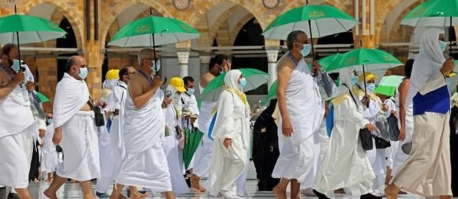 Deuxieme grand pelerinage en nombre limite a La Mecque a cause du Covid