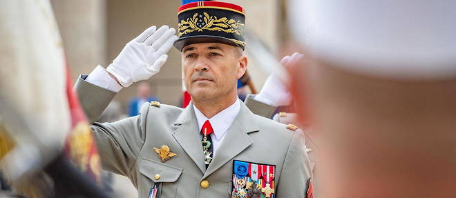 Le chef d'etat-major de l'armee de terre (Cemat), le general d'armee Thierry Burkhard le 16 juillet 2020.
