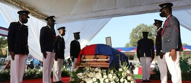 Haiti dit adieu, sous haute securite, a son president assassine