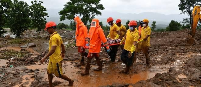 Mousson meurtriere en Inde: le bilan s'alourdit a 159 morts, des dizaines de disparus