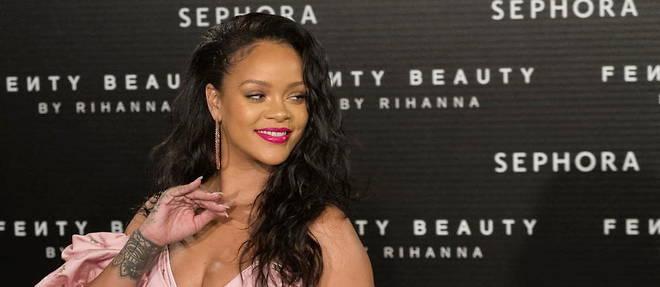 Rihanna n'a pas sorti d'album depuis 2016 mais reste la chanteuse la plus riche du monde.