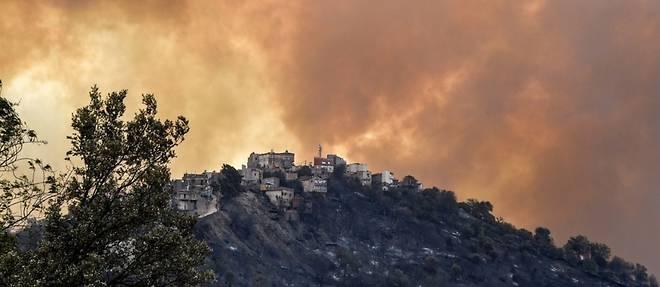 Algerie: plus de 40 morts dans les incendies qui ravagent le nord