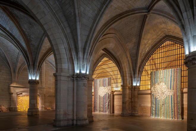 El Anatsui ©  @P.Berthé P.Cadet/ centre des monuments nationaux