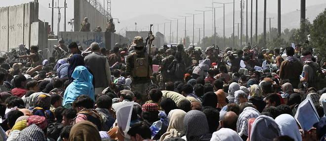 De nombreux ressortissants americains et Afghans a risque n'auront peut-etre pas ete evacues avant le 31 aout.