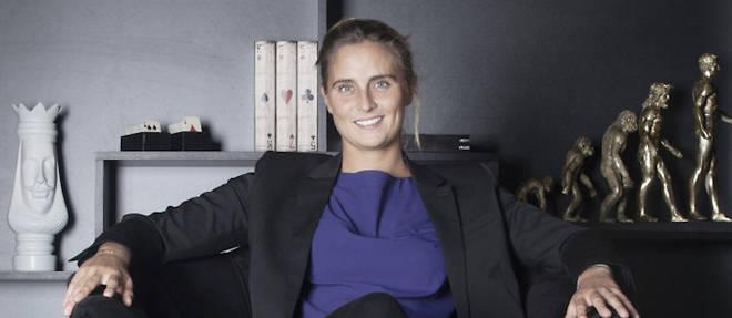 Pauline Deroulede, championne de tennis-fauteuil, coanimera une emission quotidienne pendant les Jeux paralympiques.