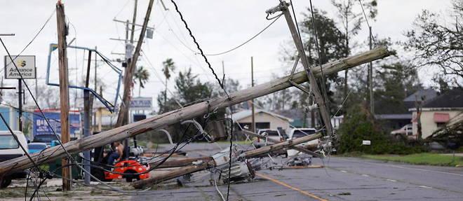 L'ouragan Ida a fait de nombreux degats en Louisianne.