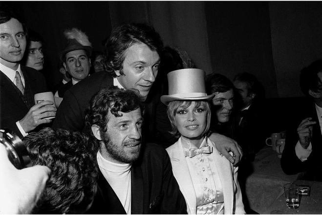 Jean-Paul Belmondo, Brigitte Bardot, Jean-Pierre Cassel,  ©  - / AFP