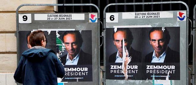 Malgre l'activation de ses soutiens depuis plusieurs mois, Eric Zemmour n'a pas encore declare sa candidature a la presidentielle.