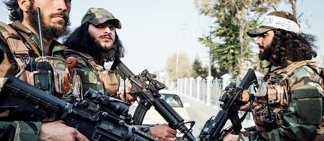 (C)Adrien Vautier / Le Pictorium/MAXPPP - Adrien Vautier / Le Pictorium - 05/09/2021  -  Afghanistan / Mazar-e Charif  -  Des jeunes talibans armes patrouillent dans la ville de Mazar-e Charif le 5 septembre. / 05/09/2021  -  Afghanistan / Mazar-e Charif  -  Armed Taliban youths patrol the city of Mazar-e Sharif on September 5. (MaxPPP TagID: maxnewsworldfive540461.jpg) [Photo via MaxPPP], (C)Adrien Vautier / Le Pictorium/MAXPPP - Adrien Vautier / Le Pictorium - 05/09/2021 - Afghanistan / Mazar-e Charif - Des jeunes talibans armes patrouillent dans la ville de Mazar-e Charif le 5 septembre. / 05/09/2021 - Afghanistan / Mazar-e Charif - Armed Taliban youths patrol the city of Mazar-e Sharif on September 5. (MaxPPP TagID: maxnewsworldfive540461.jpg) [Photo via MaxPPP]