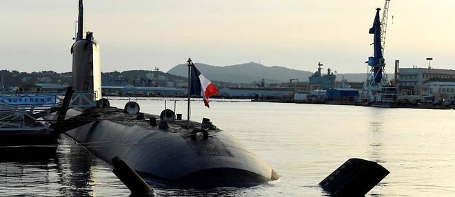 Le sous-marin francais a propulsion nucleaire de classe Suffren, dont le constructeur Naval Group devait vendre 12 exemplaires a l'Australie dans une version a propulsion diesel-electrique.