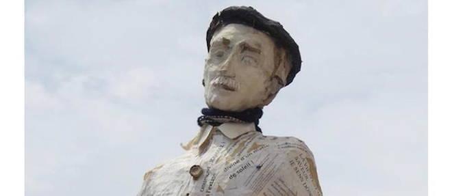 Tuilerie de Massane a proximite de Montpellier, demeure du poete Joseph Delteil (1894-1978).
