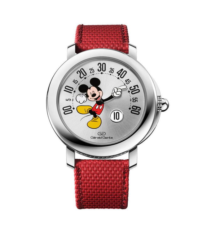 Gerald Genta, Mickey, Disney Fantasy, Bvlgari ©  DR