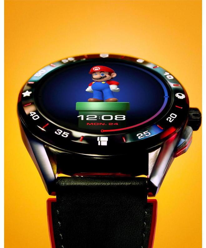 Super Mario, Nintendo, TAG Heuer, smartwatch ©  DR