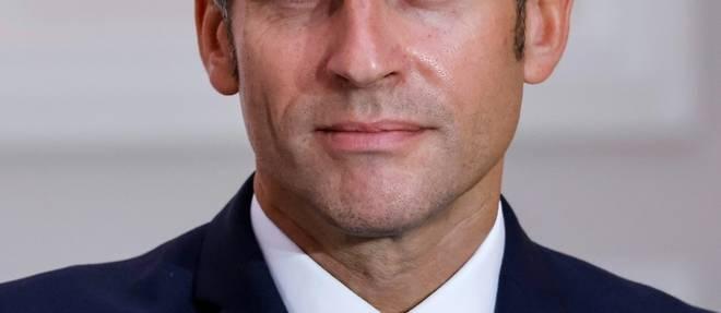 Macron reaffirme son soutien au droit a l'avortement
