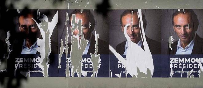 Eric Zemmour talonne Xavier Bertrand dans les sondages.