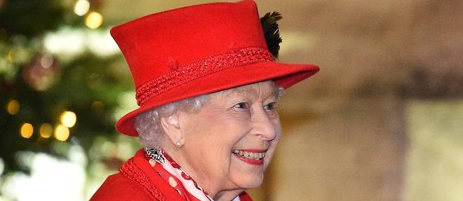 La reine d'Angleterre, Elizabeth II.