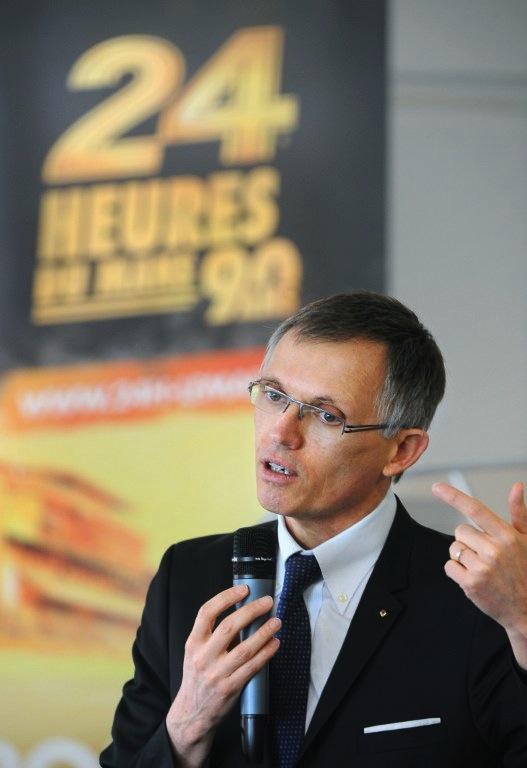 Carlos Tavares, patron de Renault, croit aux vertus de la course automobile. C'est bon pour Alpine