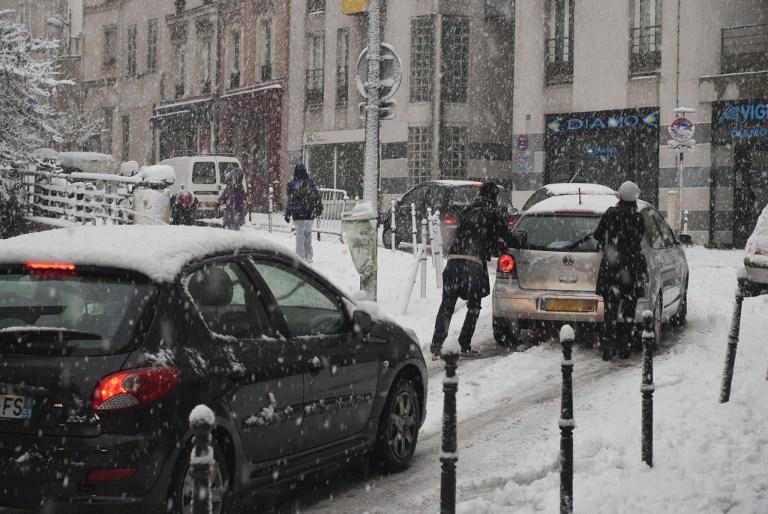 Décembre 2010, les rues de Paris, c'était ça!