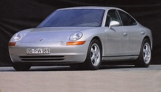 La 989 sera la tentative officielle de Porsche de faire une 911 à quatre portes