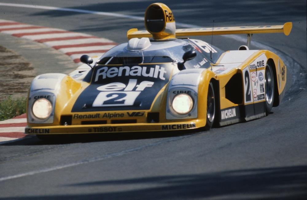 La très impressionnante A442 B, victorieuse en 1978
