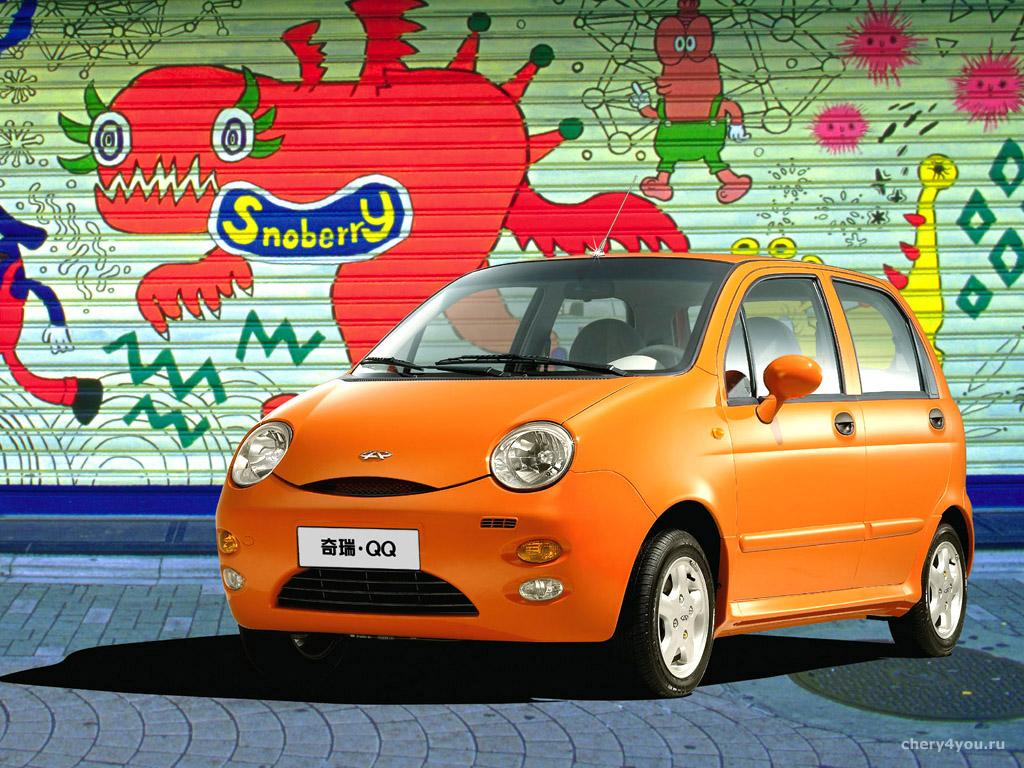 Chery est un constructeur plutôt spécialisé dans les toutes petites voitures pour le marché intérieur avec un style digne des BD.
