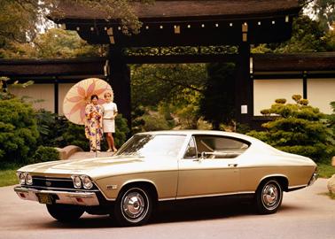 En 1968, le coupé Malibu cède à la mode fastback. Son V8