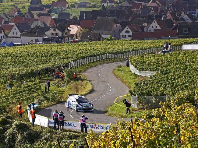Les voitures de rallye faisiant le plein de marc de vin, c'est peut être une réalité pour demain