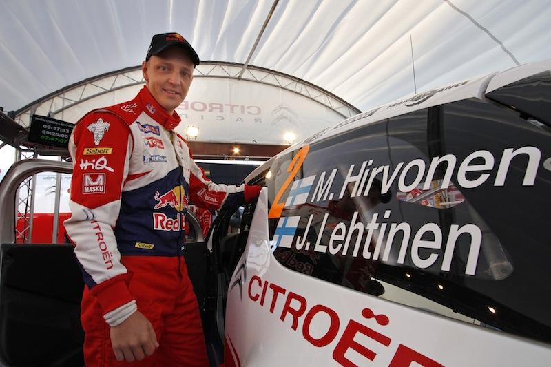 Hirvonen portera les espoirs de Citroën cette saison