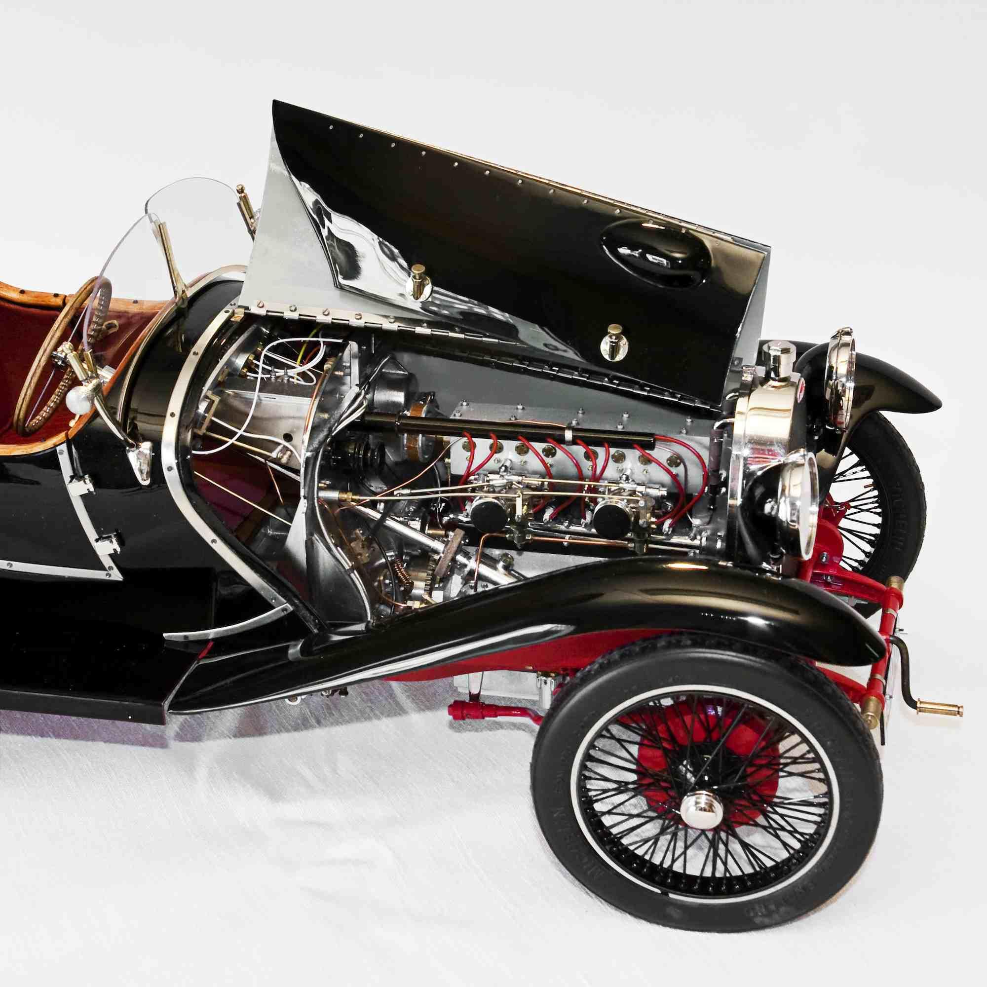 Le moteur de la Type 30.