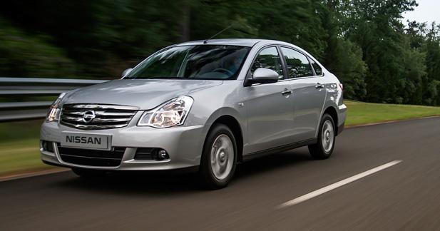 La Nissan Almera continue sa carrière en Russie