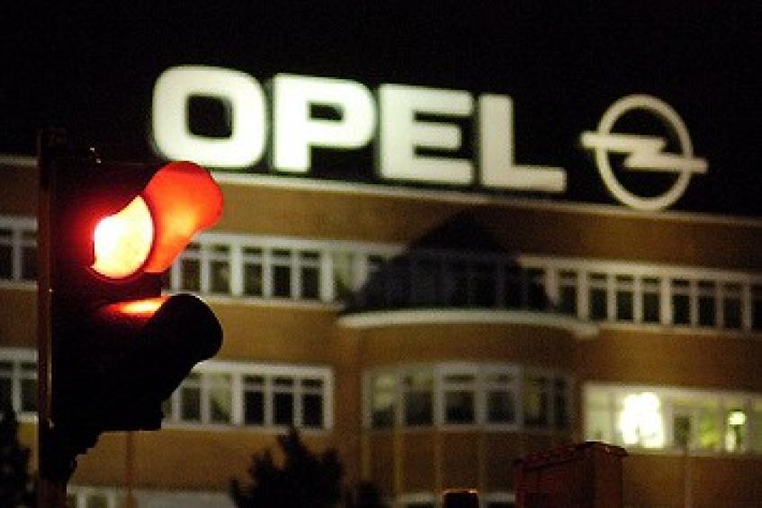 Le feu rouge est allumé pour l'usine Opel de Bochum, près de Francfort