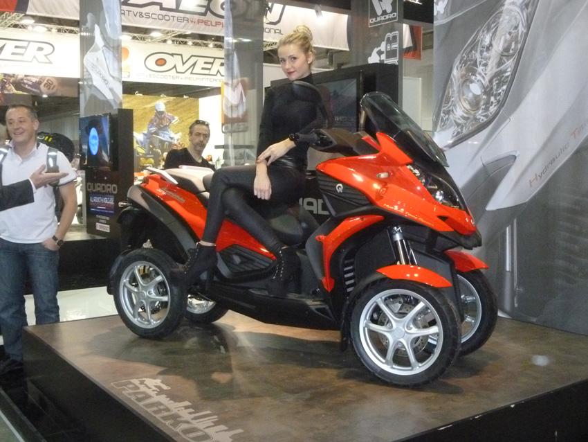 Le Quadro Parkour à 4 roues