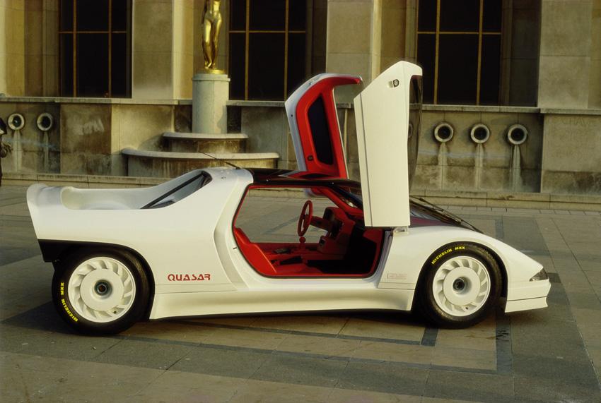 Le concept Peugeot Quasar de 1984