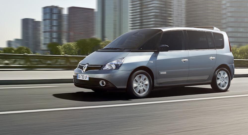 Le Renault Espace, ici le modèle 2012, ne sera pas reconduit