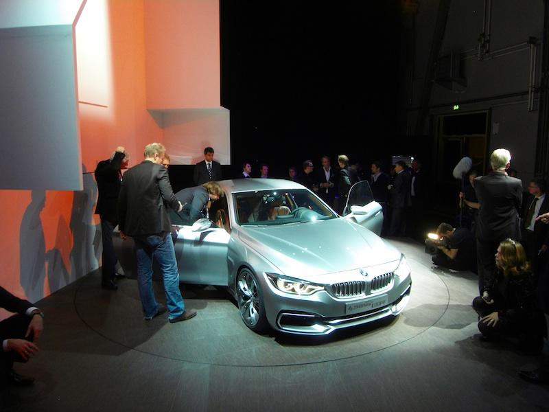 Les journalistes conviés hier à découvrir la Série 4 et quelques autres futures BMW