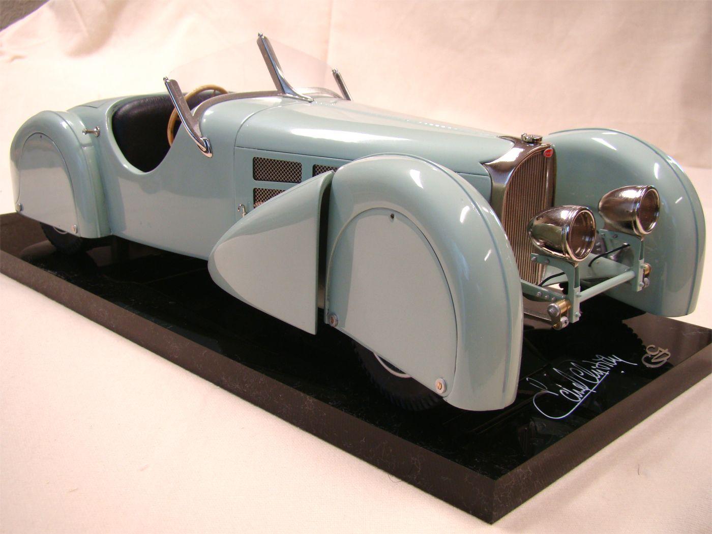 La Bugatti Type 57 S 'alon de Paris 1936'