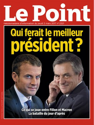 Couverture du Point N° 2321 du 02 mars 2017