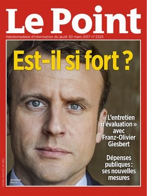 Couverture du Point N° 2325 du 30 mars 2017
