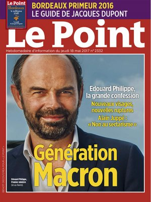 Couverture du Point N° 2332 du 18 mai 2017