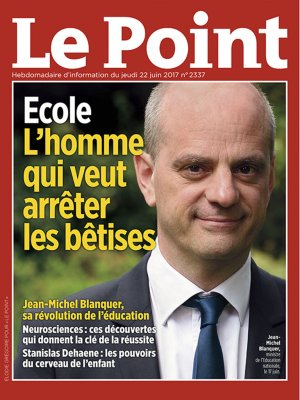 Couverture du Point N° 2337 du 22 juin 2017
