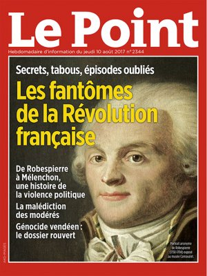 Couverture du Point N° 2344 du 10 août 2017
