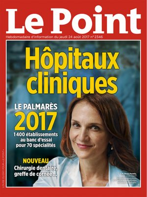 Couverture du Point N° 2346 du 24 août 2017