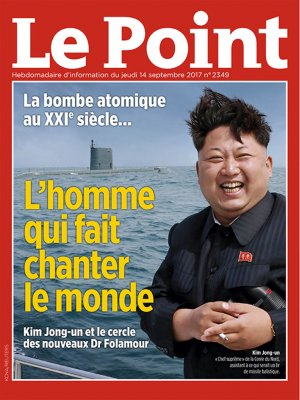 Couverture du Point N° 2349 du 14 septembre 2017