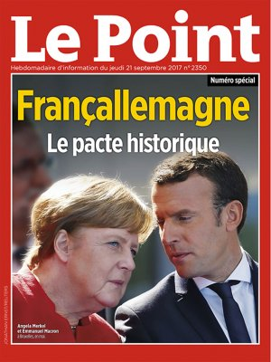 Couverture du Point N° 2350 du 21 septembre 2017
