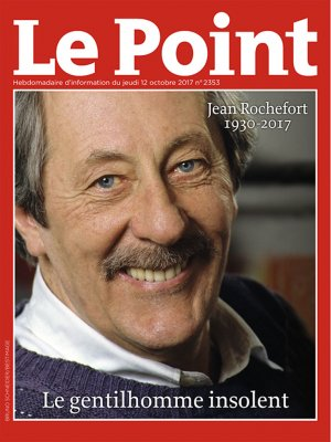 Couverture du Point N° 2353 du 12 octobre 2017