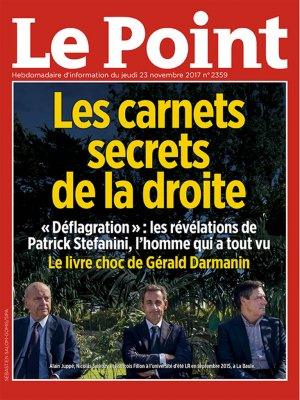 Couverture du Point N° 2359 du 23 novembre 2017